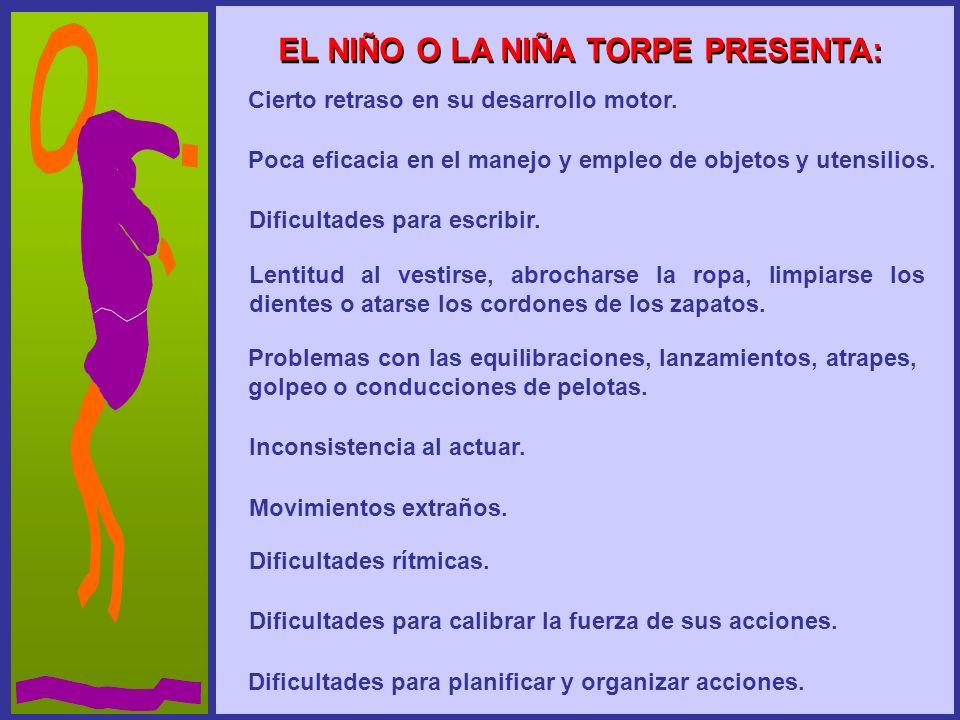 EL NIÑO O LA NIÑA TORPE PRESENTA: