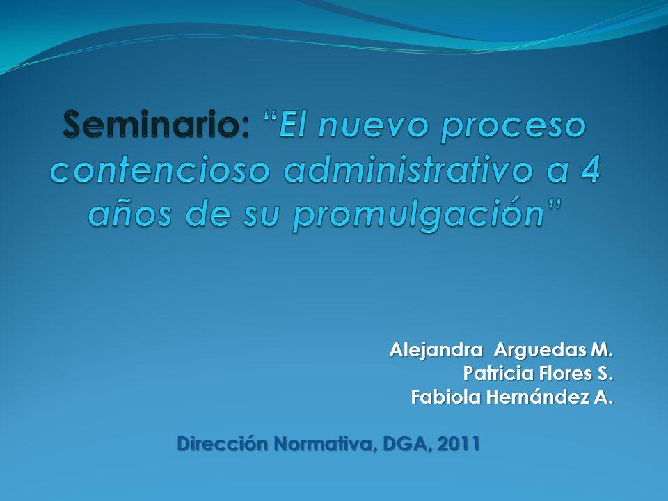 Dirección Normativa, DGA, 2011
