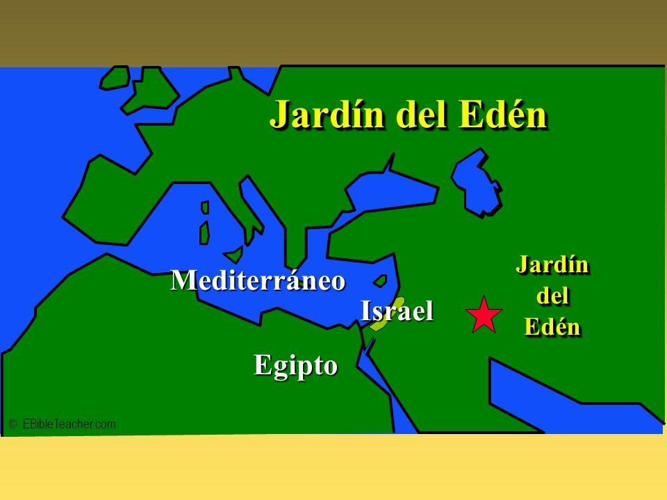 Jardín del Edén Mediterráneo Israel Egipto Jardín del Edén
