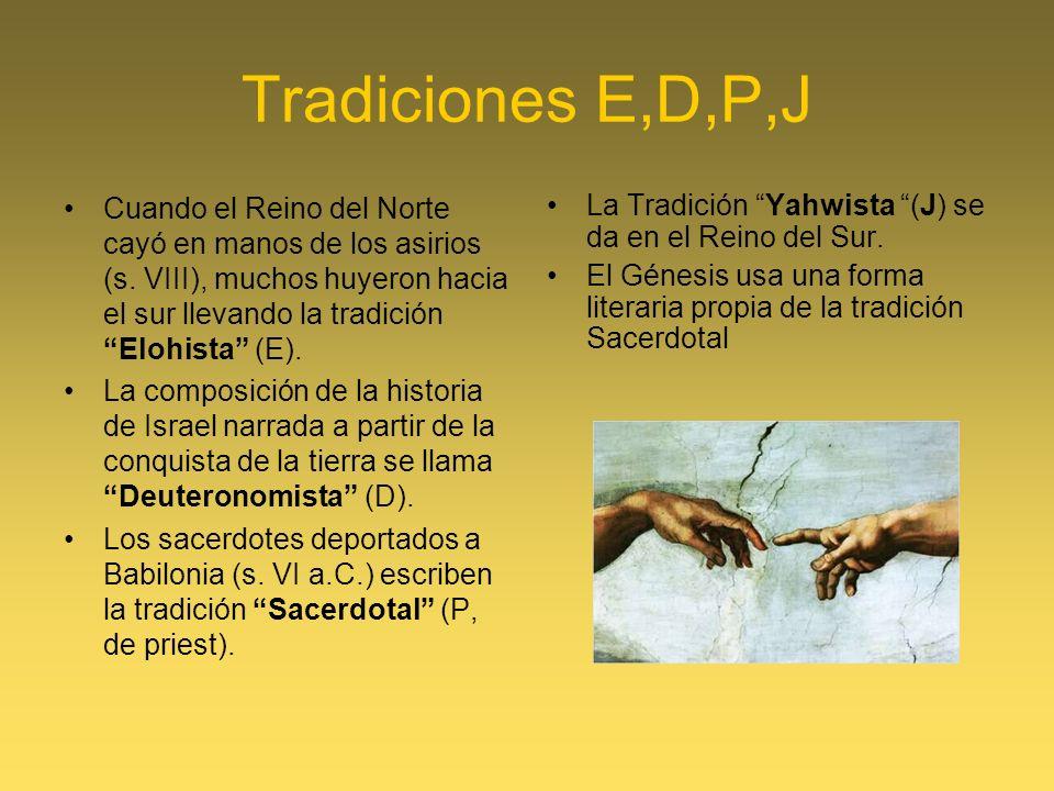 Tradiciones E,D,P,J