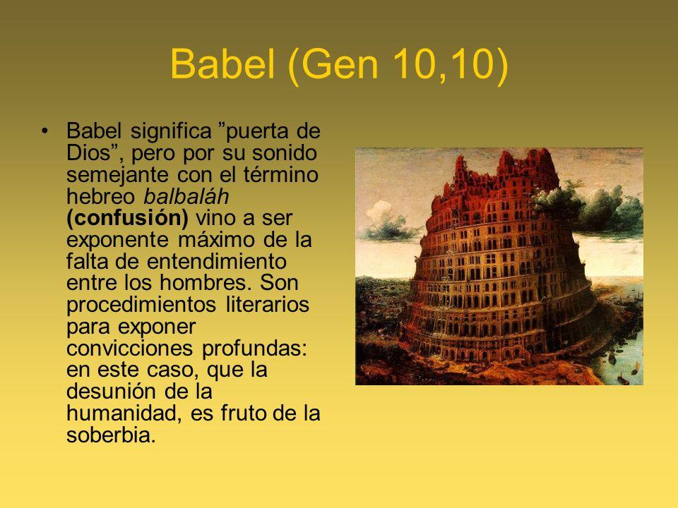 Babel (Gen 10,10)