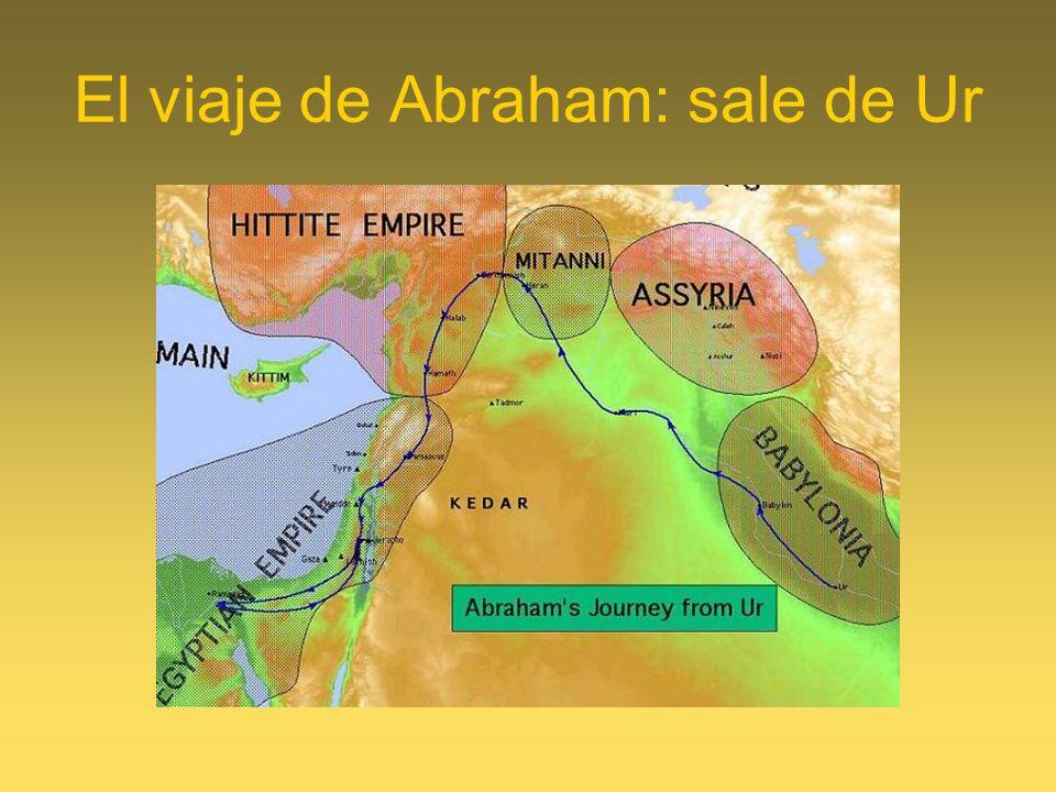 El viaje de Abraham: sale de Ur