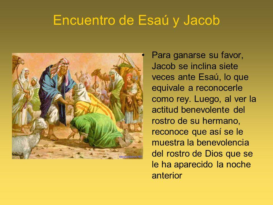 Encuentro de Esaú y Jacob