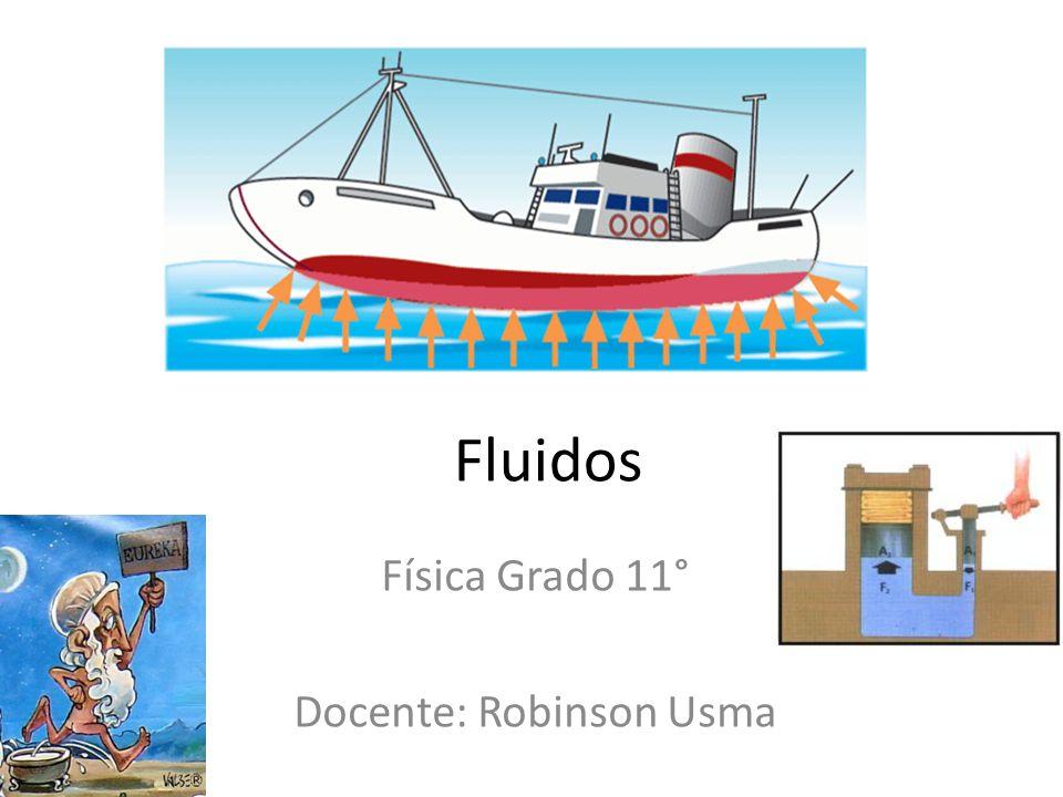 Física Grado 11° Docente: Robinson Usma