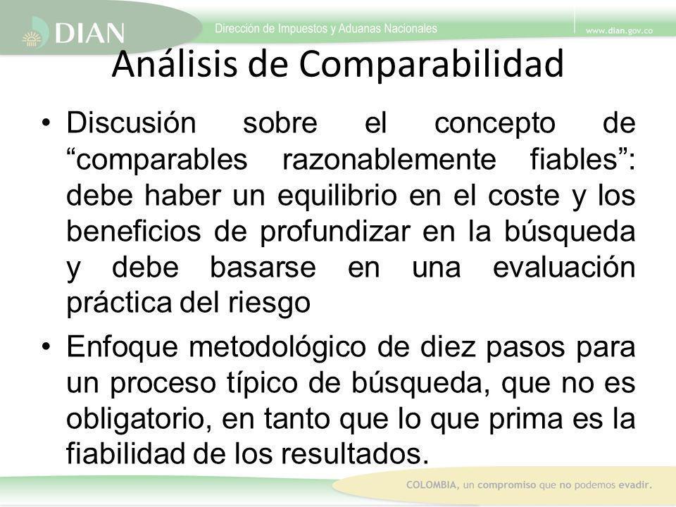 Análisis de Comparabilidad