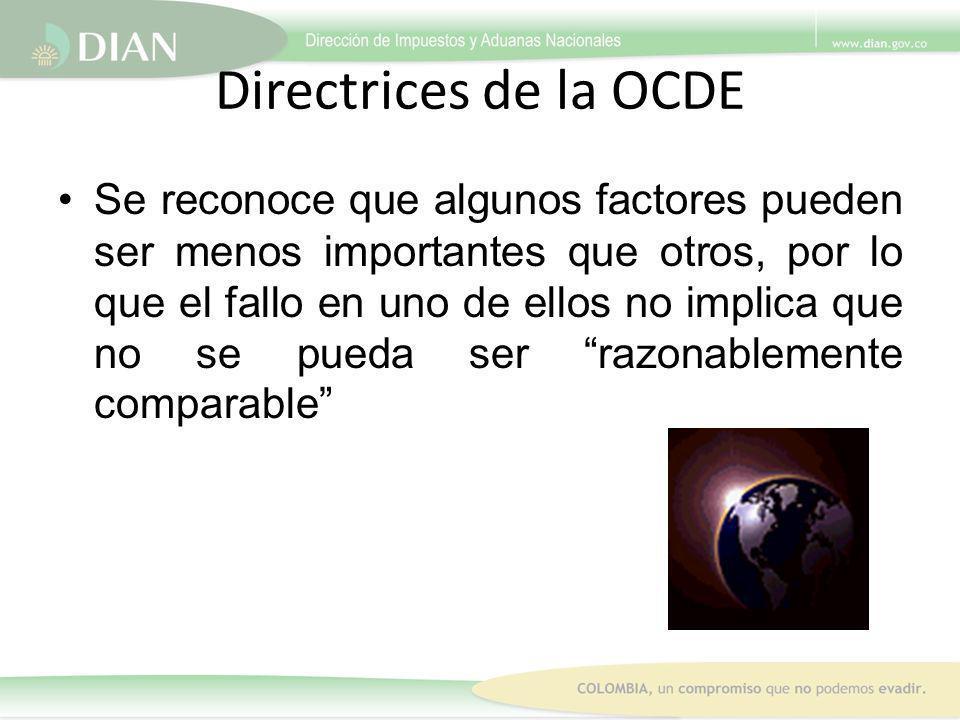 Directrices de la OCDE