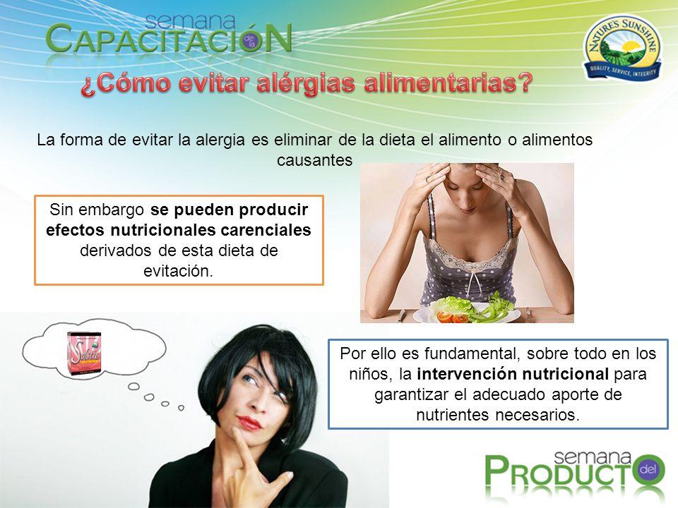 ¿Cómo evitar alérgias alimentarias