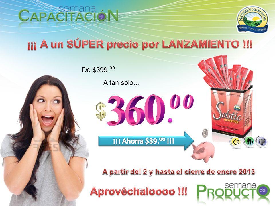 ¡¡¡ A un SÚPER precio por LANZAMIENTO !!! Aprovéchaloooo !!!