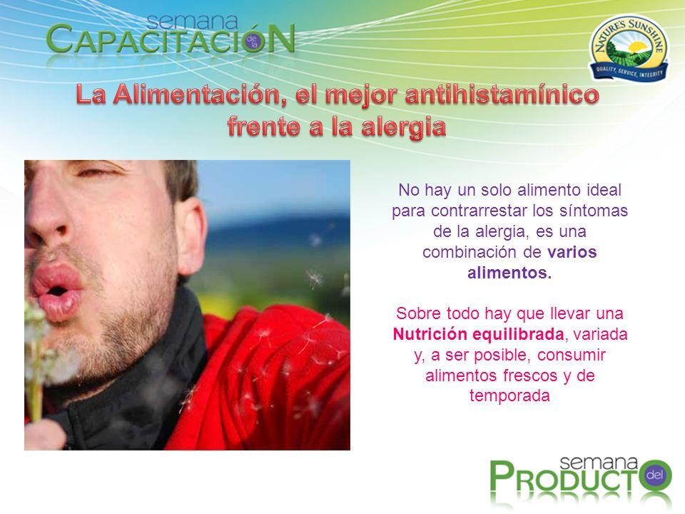 La Alimentación, el mejor antihistamínico frente a la alergia