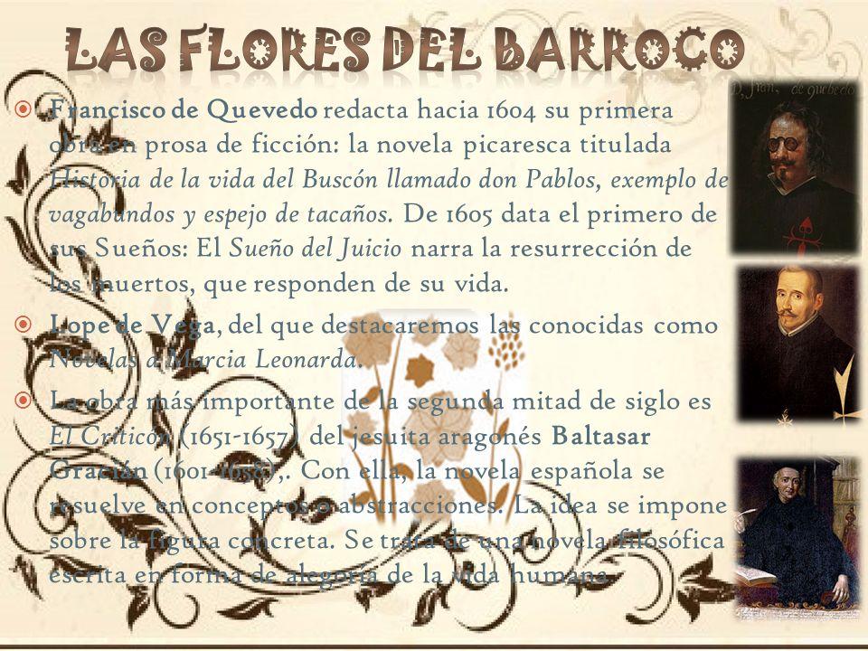 LAS FLORES DEL BARROCO