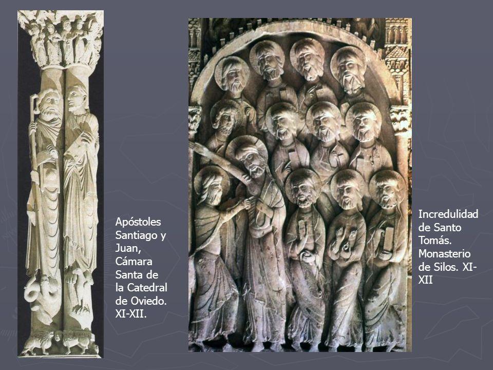 Incredulidad de Santo Tomás. Monasterio de Silos. XI-XII