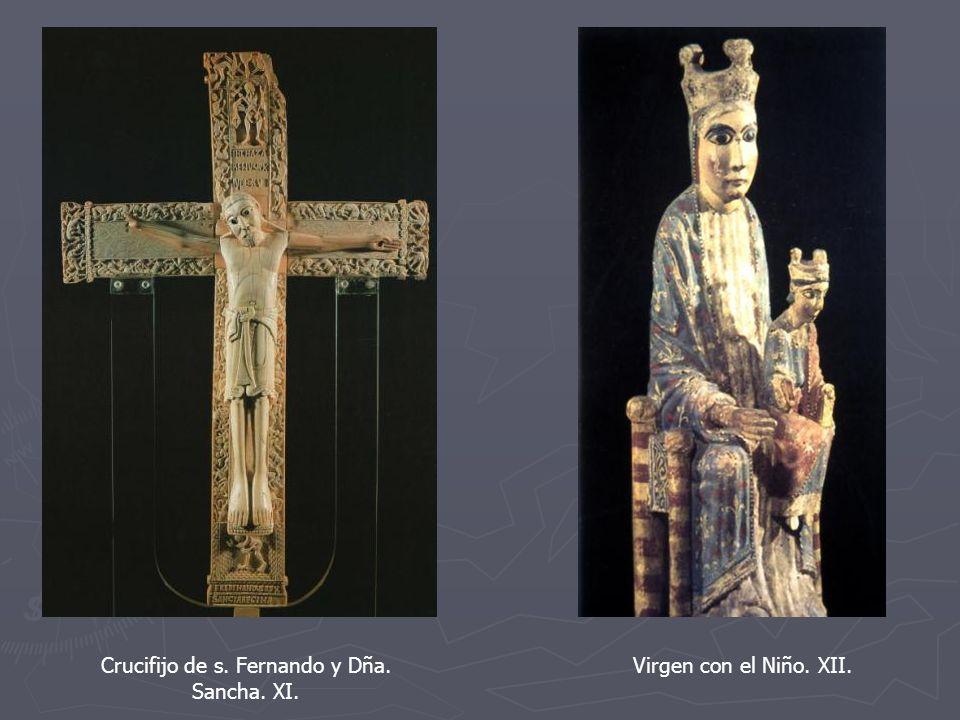 Crucifijo de s. Fernando y Dña. Sancha. XI.