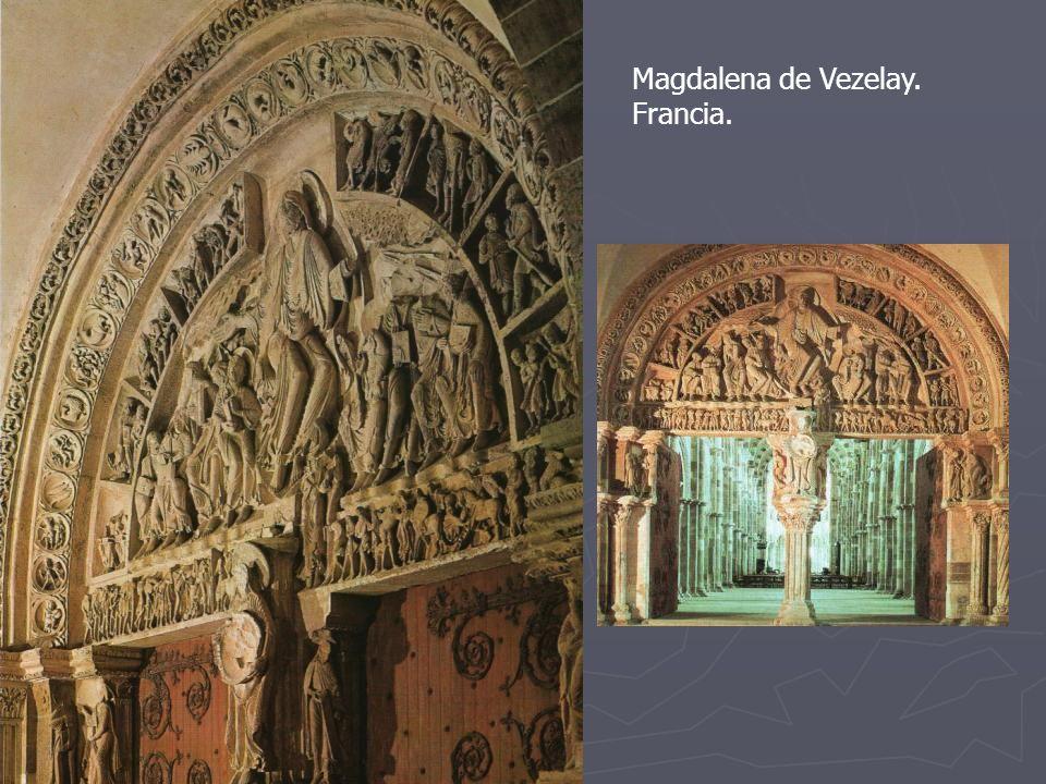 Magdalena de Vezelay. Francia.