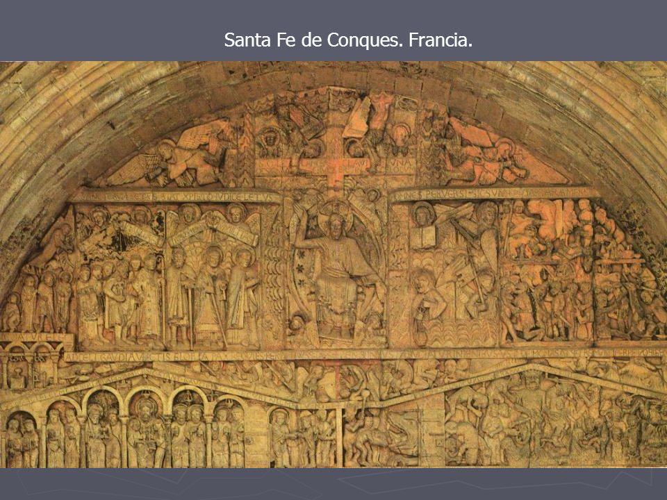 Santa Fe de Conques. Francia.