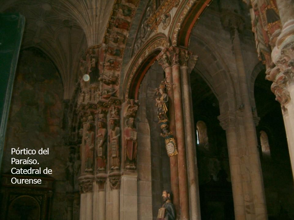 Pórtico del Paraíso. Catedral de Ourense