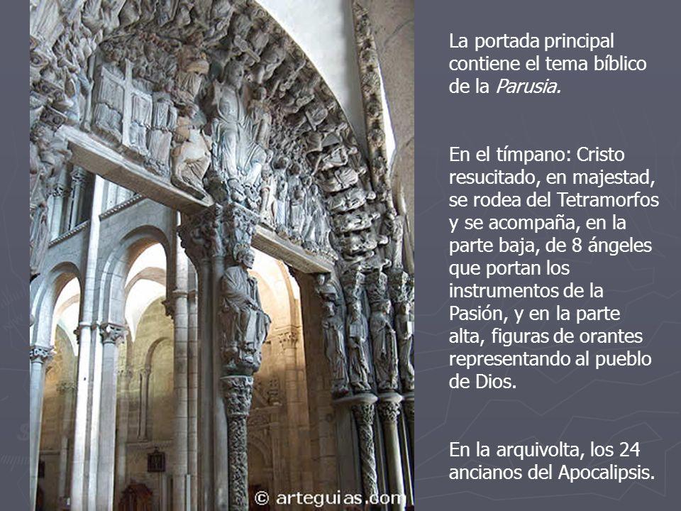 La portada principal contiene el tema bíblico de la Parusia.