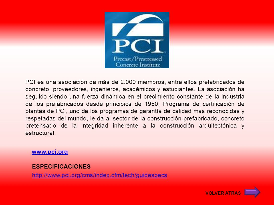ESPECIFICACIONES http://www.pci.org/cms/index.cfm/tech/guidespecs