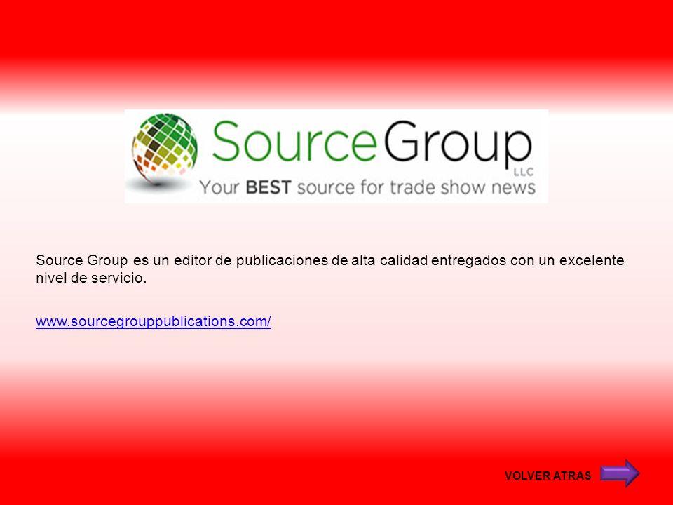 Source Group es un editor de publicaciones de alta calidad entregados con un excelente nivel de servicio. www.sourcegrouppublications.com/
