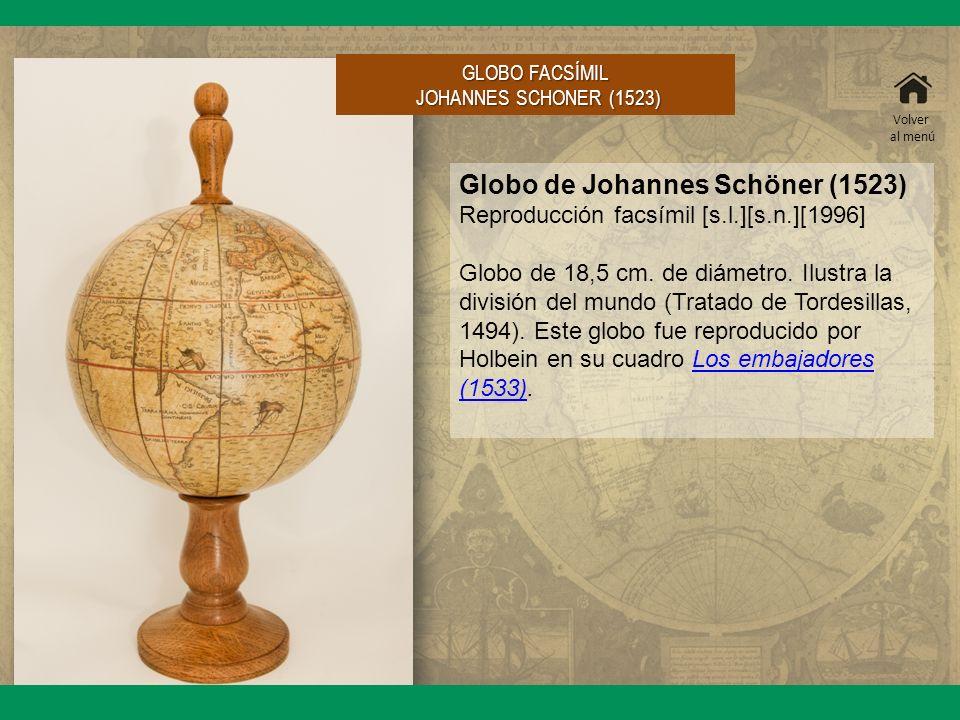 Globo de Johannes Schöner (1523)