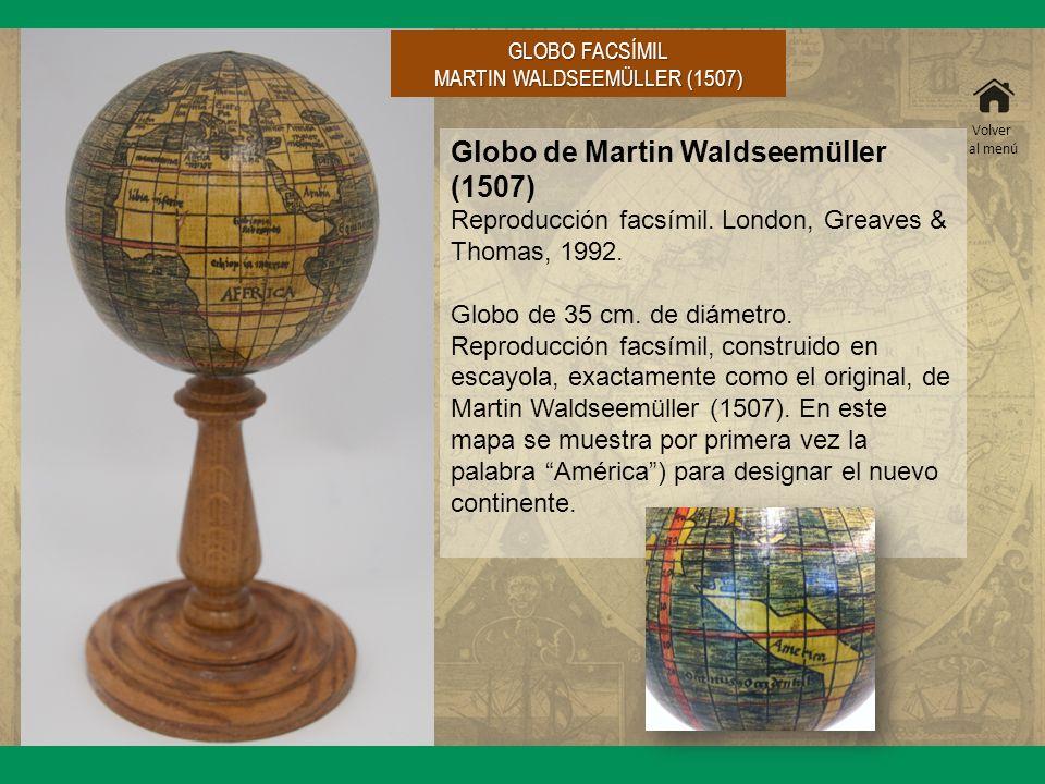 MARTIN WALDSEEMÜLLER (1507)