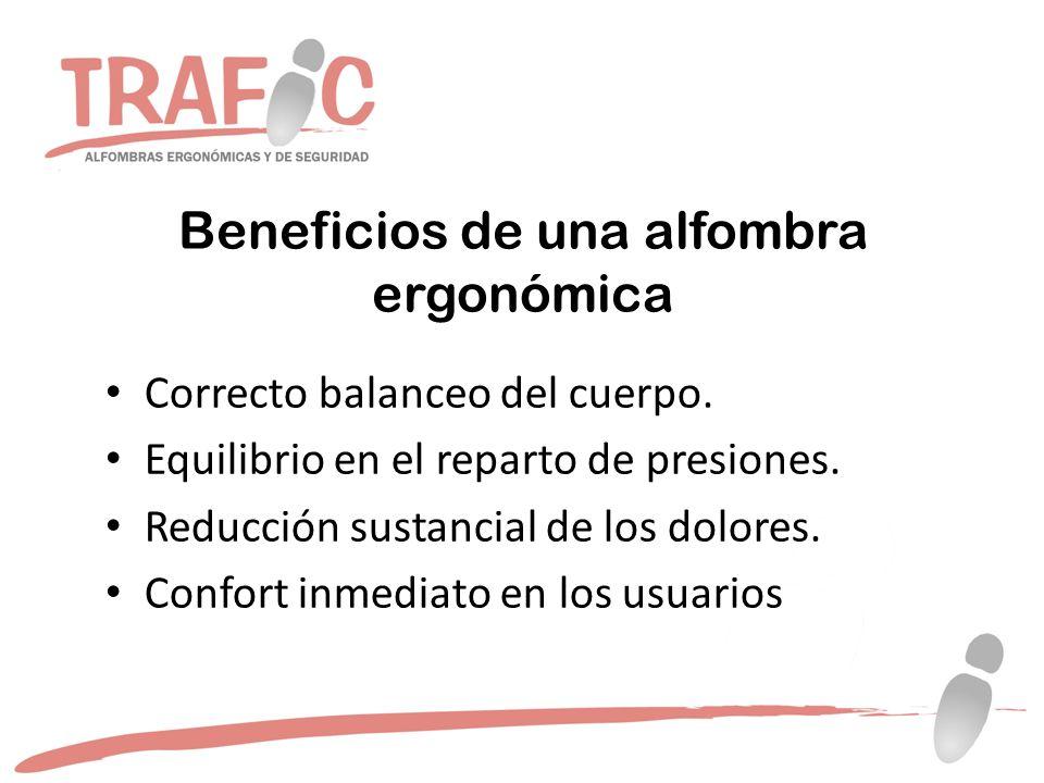 Beneficios de una alfombra ergonómica