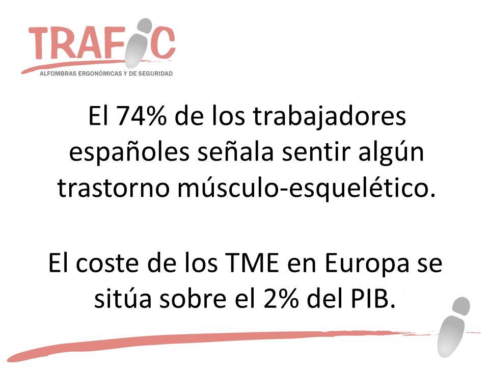 El coste de los TME en Europa se sitúa sobre el 2% del PIB.