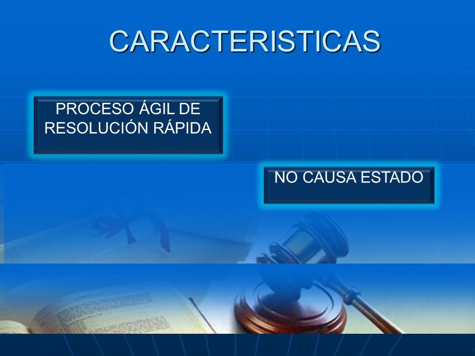 PROCESO ÁGIL DE RESOLUCIÓN RÁPIDA
