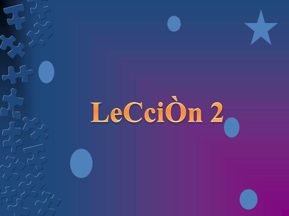 LeCciÒn 2
