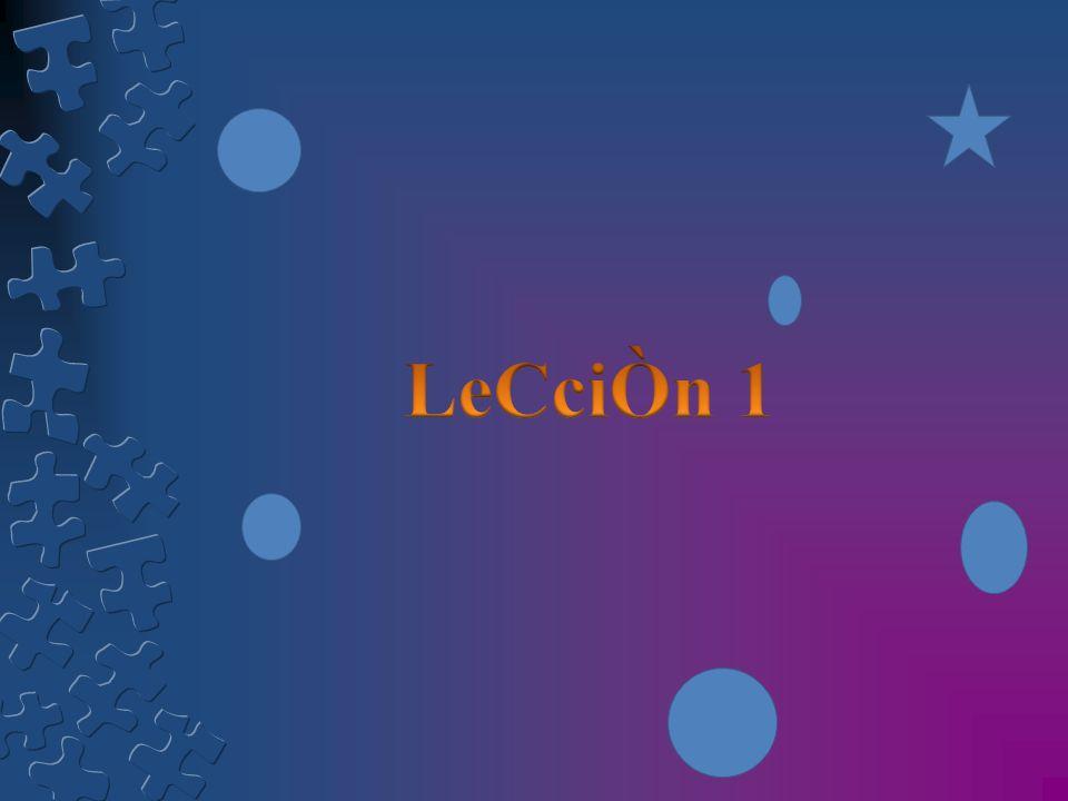 LeCciÒn 1