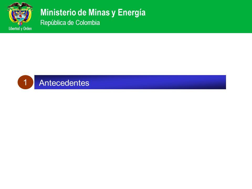 1 Antecedentes Balance de las reformas sector eléctrico