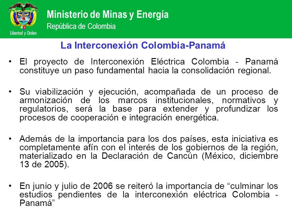 La Interconexión Colombia-Panamá