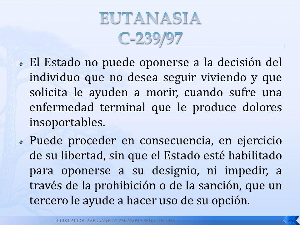 EUTANASIA C-239/97