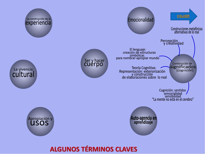 ALGUNOS TÉRMINOS CLAVES