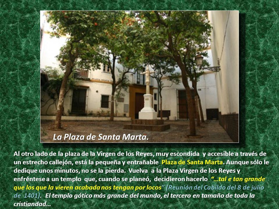 La Plaza de Santa Marta.