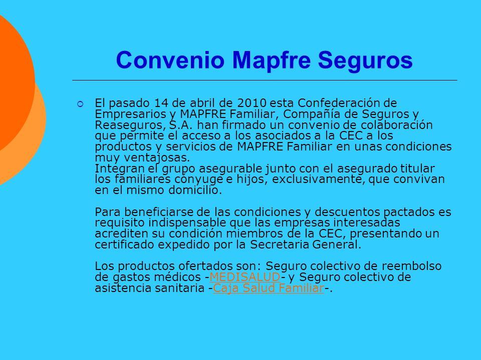 Convenio Mapfre Seguros