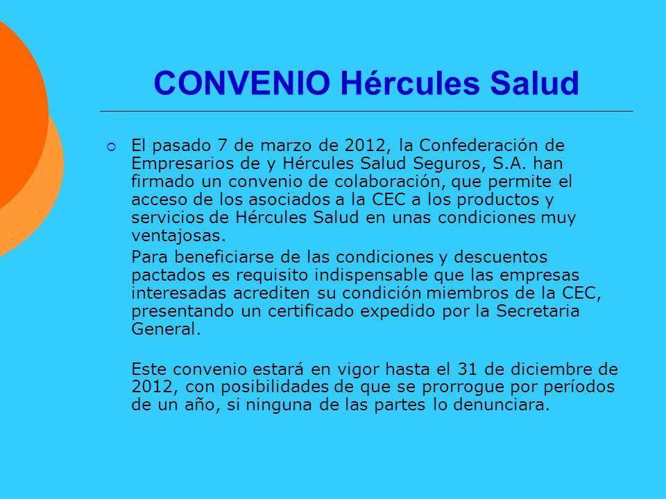 CONVENIO Hércules Salud