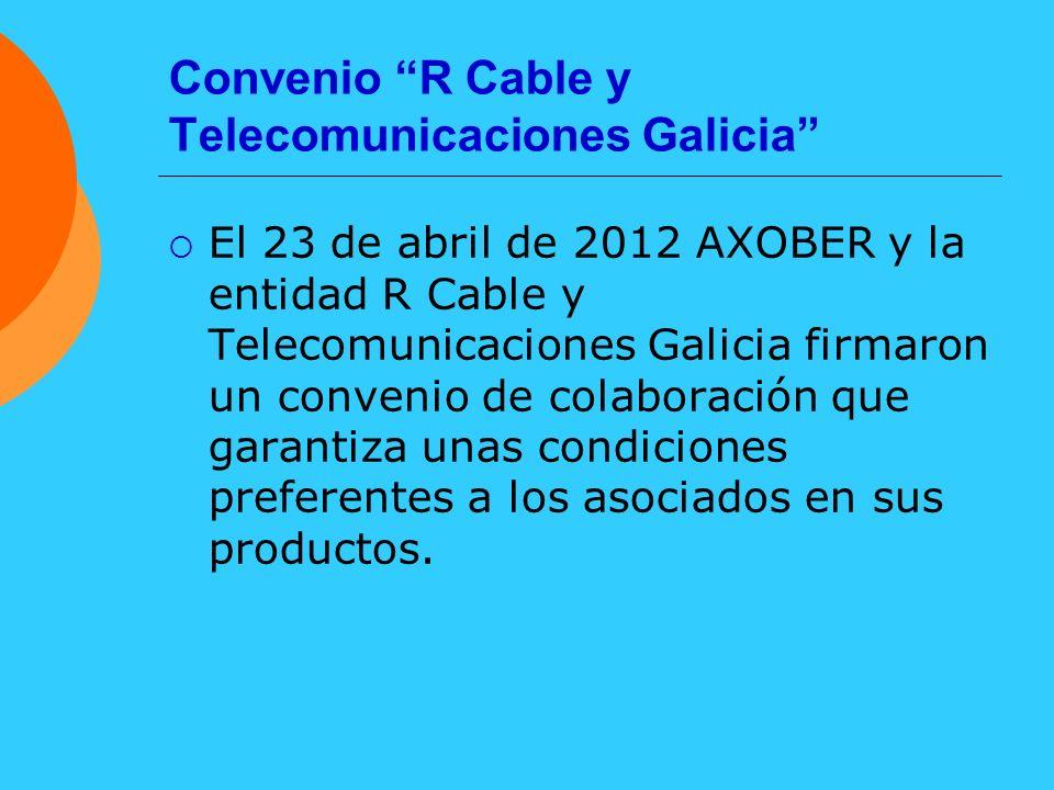 Convenio R Cable y Telecomunicaciones Galicia