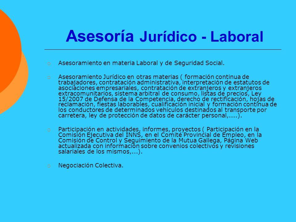 Asesoría Jurídico - Laboral