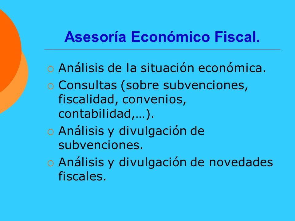 Asesoría Económico Fiscal.