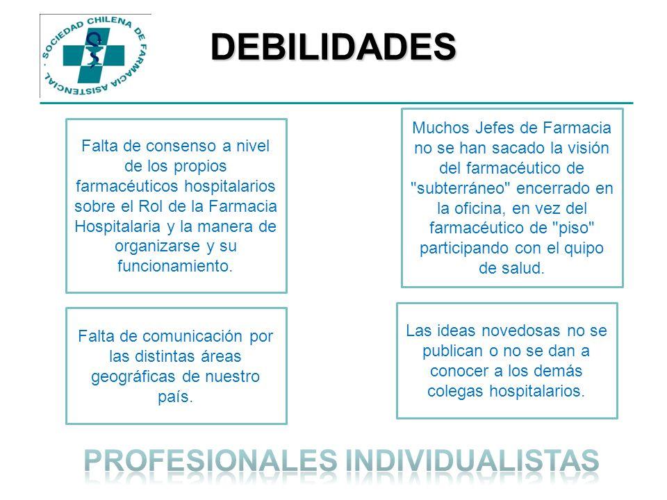 PROFESIONALES INDIVIDUALISTAS