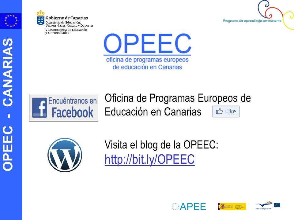 Oficina de Programas Europeos de Educación en Canarias
