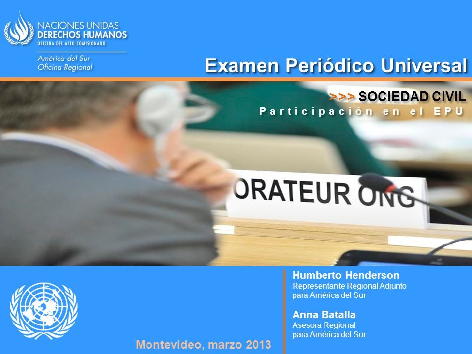 Examen Periódico Universal