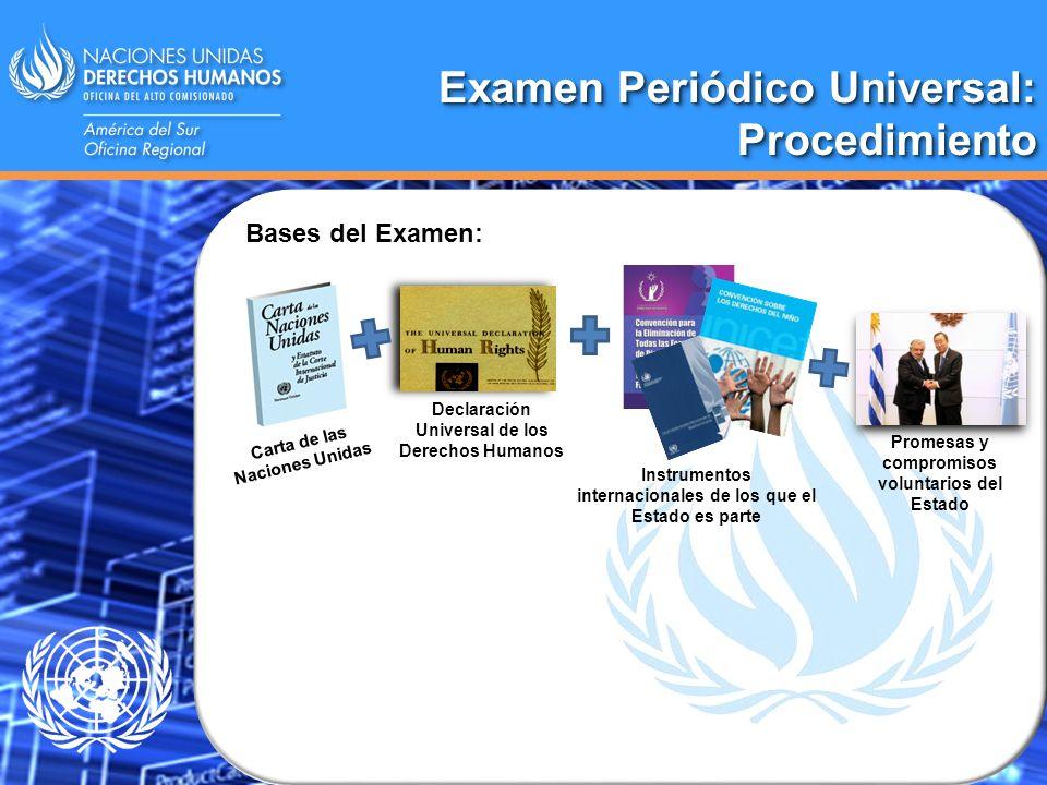 Examen Periódico Universal: Procedimiento