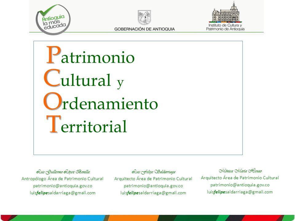 Patrimonio Cultural y Ordenamiento Territorial