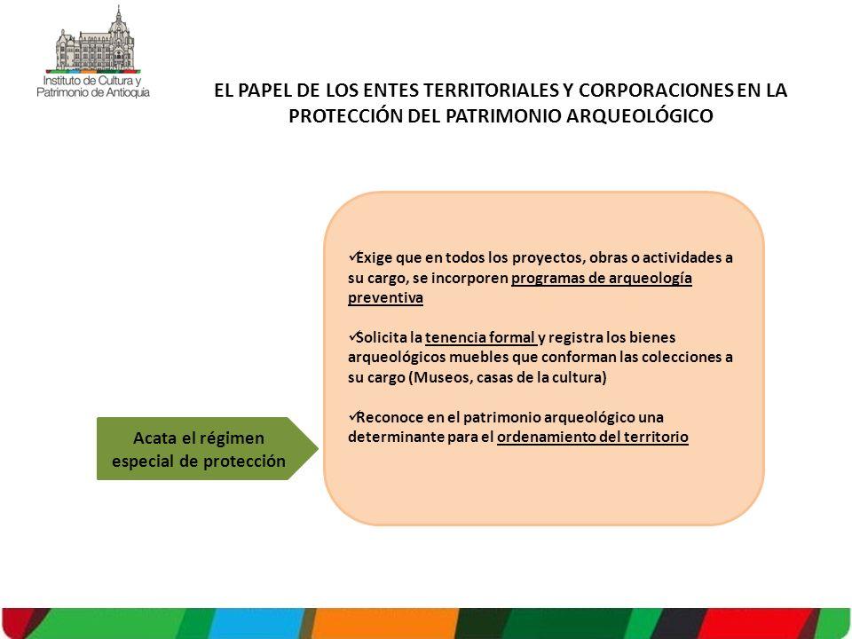Acata el régimen especial de protección