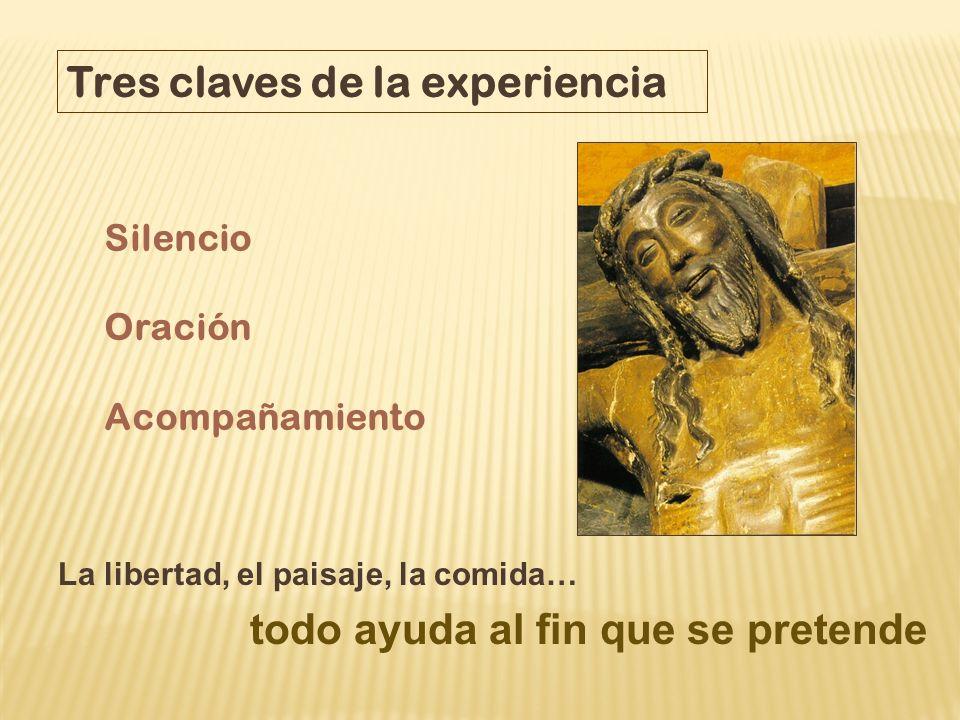 Tres claves de la experiencia