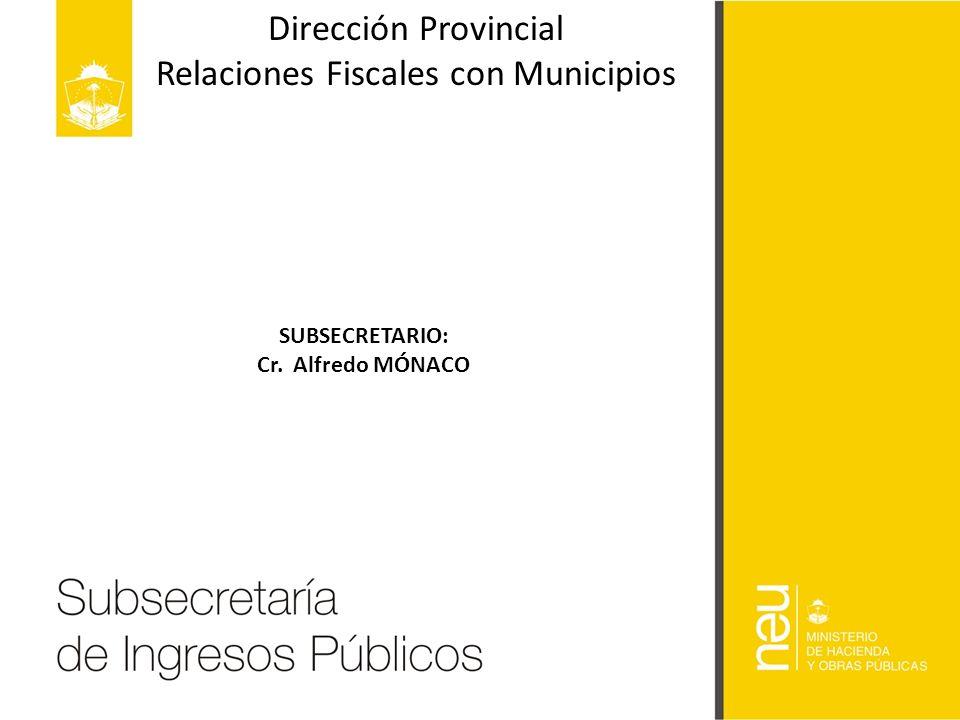 Relaciones Fiscales con Municipios