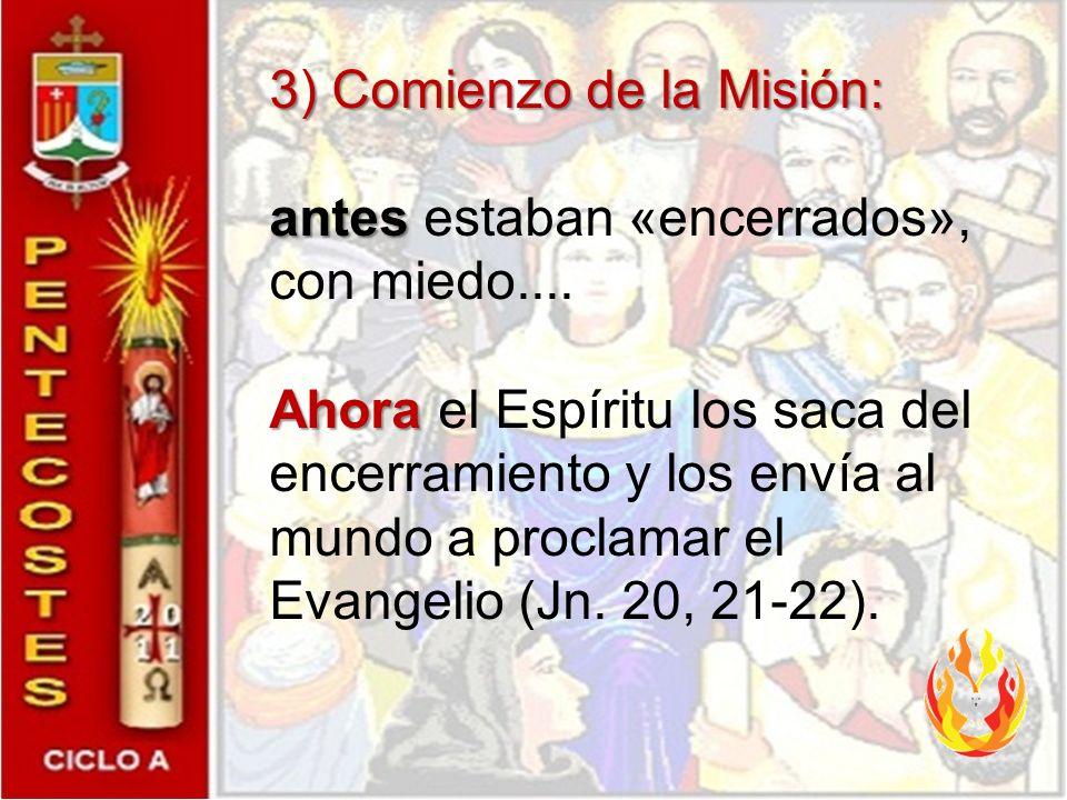 3) Comienzo de la Misión: