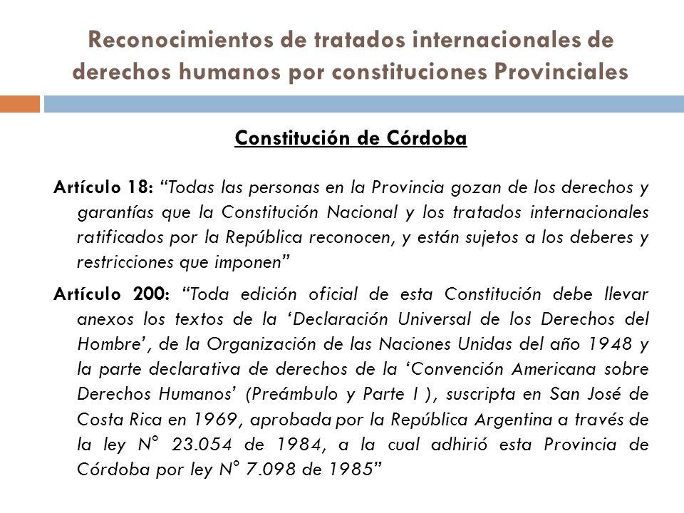 Constitución de Córdoba