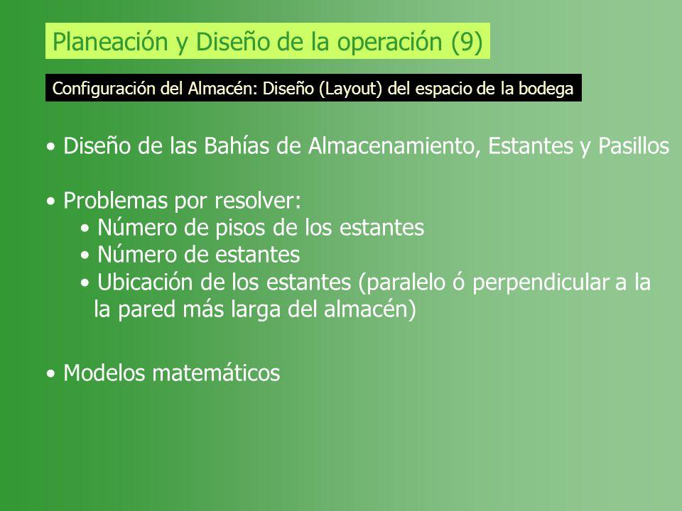 Planeación y Diseño de la operación (9)